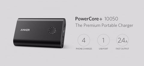 Anker PowerCore+ Power Bank QC2.0 Quick Charge