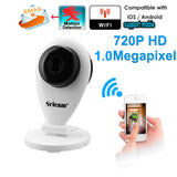 Newest White HD Mini Wifi IP Camera Wireless - Benzi Shop