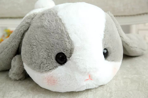 Bigger Than You Think AMUSE Pote Usa Loppy Cuddly Bunny Fluffy Rabbit