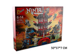 Ninja Temple of Airjitzu Ninjagoes Smaller Version Bozhi 737 pcs Blocks Set - Benzi Shop