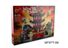 Ninja Temple of Airjitzu Ninjagoes Smaller Version Bozhi 737 pcs Blocks Set