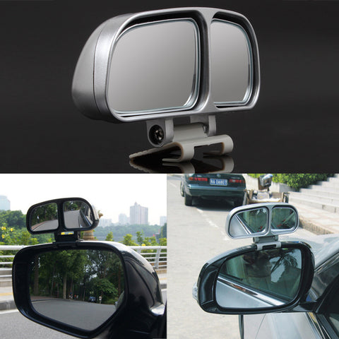 1 Pair Auto Wide Angle Rear Mirrors Side RearView Car Universal Blind Spot