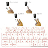 New laser keyboard Portable Virtual Laser keyboard and mouse - Benzi Shop - 8