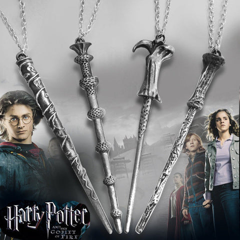 Harry Potter Magic Wand Pendent Necklace