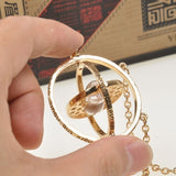 Harry Potter Rotating Time Turner Necklace -  - 3