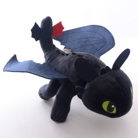 23cm Dragon Night Fury Plush Doll