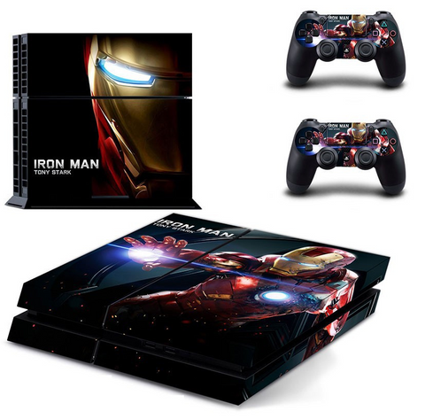 Ironman Skin For Playstation PS4 Console