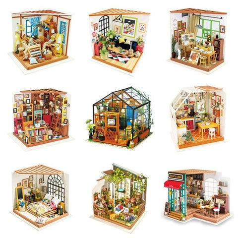 Children's Gift 9PCS Adult DIY Miniature