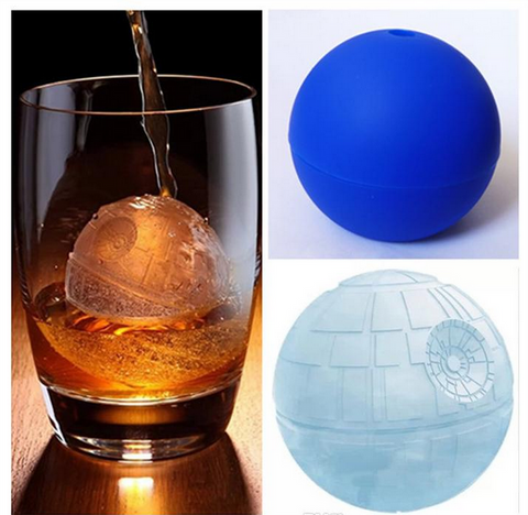 Star Wars Death Star Ice Cube Mold Desert Sphere Maker Party Drinks