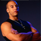 Vin Diesel Punk Statement Necklace Trendy Male Cross -  - 3