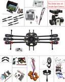 F07807-H JMT DIY 2.4G 10CH PX4 GPS 5.8G FPV 680PRO RC Hexacopter Unassembled Full Kit ARF No Battery RC Drone MINI3D Pro Gimbal - Benzi Shop