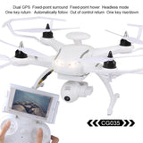 Mini Drone AOSENMA CG035 Brushless Double GPS 5.8G FPV1080P Gimbal Camera Quadcopter Drone RC helicopter
