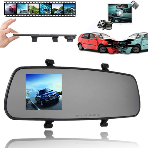 2.4 Inch 720P HD TFT Car DVR Vehicle Camera Lens Video Recorder Dash Cam G-sensor Night Vision Parking Video Recorder