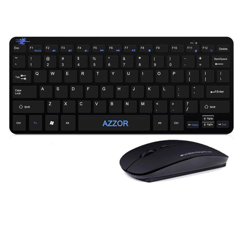 Keyboard And Mouse Set Gaming Wireless 2.4G  To Computer Multimedia Gamer For Pc And Deptop
