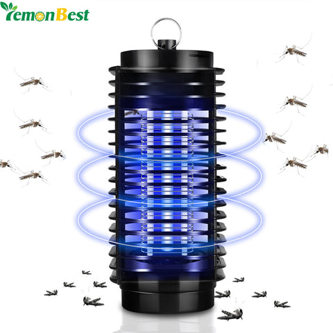 110V 220V EU US Plug Electronics Mosquito Killer Lamp Insect Pest Bug Zapper Repeller Blue Night Light No Radiation