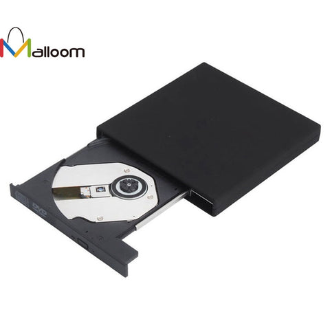 100% Brand New  Black USB 2.0 External DVD Combo CD-RW Burner Drive CD+-RW DVD ROM