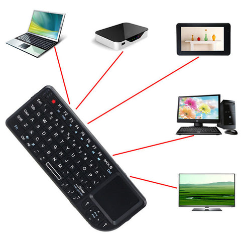 New 2.4G Wireless Keyboard Air Mouse Touchpad for PC Notebook Smart TV