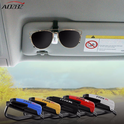 Car styling Sunglasses clip Car Sun Visor Glasses  Ticket Receipt Card Clip Holder Storage Holder car accessories