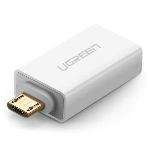 Ugreen Micro USB OTG Adapter Male to USB 2.0 Micro Adapter Converter for Samsung Xiaomi LG Huawei Android Mobile Phones