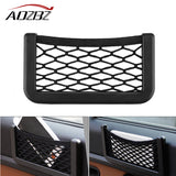 Universal Car Box Storage Bag Mesh Net Bag Car Styling Holder Pocket Organizer Auto Interior car Accessories Stowing Tidying