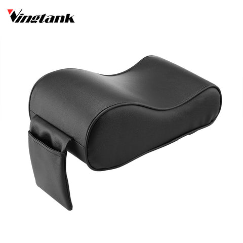 Vingtank Memory Foam Car Armrest Cushions Armrest Center Consoles Hand Rest Pad with Storage Pocket