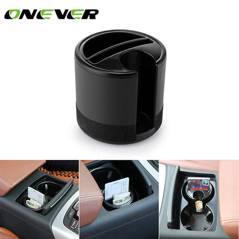 Onever Car Storage Box Organizer Holder Cups Seat Pockets Coin Cards Slot Container Stowing Tidying Car Accessories Car-styling
