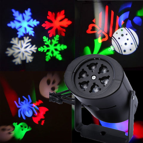 Snowflake Projector Lights Bright LED Adjustable Speed Projections Lamp