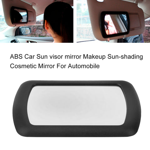 2017 Sun visor mirror  Car Makeup Sun-shading Cosmetic Mirror For Automobile Make Up Excellent Auto Supplies Drop Shipping