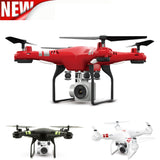 2.4G Altitude Hold HD Camera Quadcopter RC Drone WiFi FPV Live Helicopter Hover - Benzi Shop