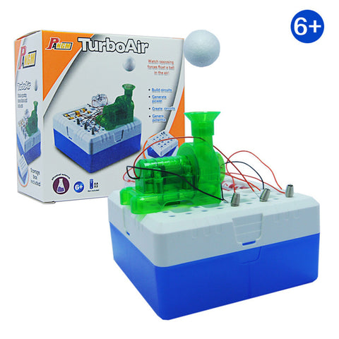 Magic Game DIY Turbo Air Floating Ball Toy Educational Science Kits Kids Gifts