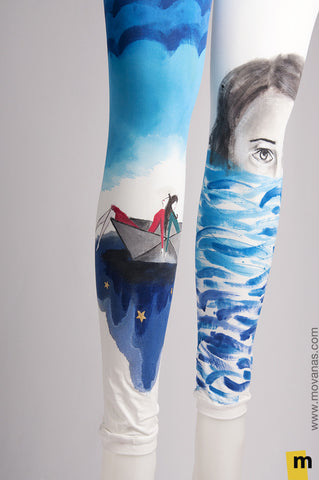 Hand-painted Leggings