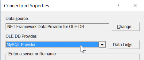 How to install MySQL Connection Provider – SelectCompare