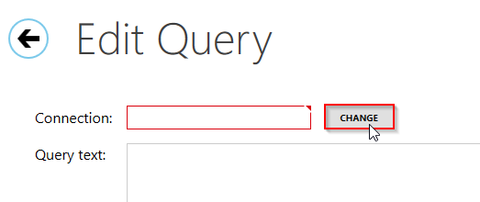 Editing new query using Oracle ODBC connection in SelectCompare