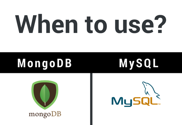 MongoDB vs MySQL data architecture - when to use