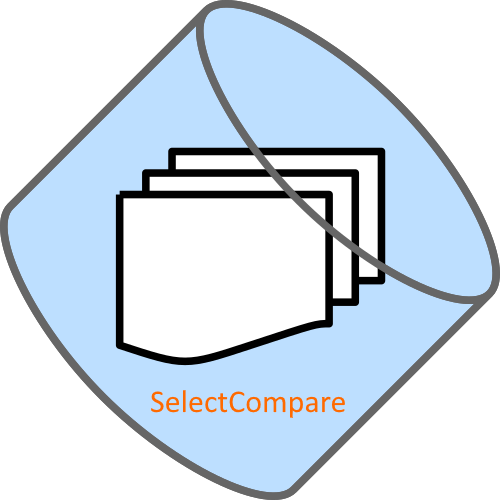 Logo of the Personal Edition of the data comparison utility SelectCompare