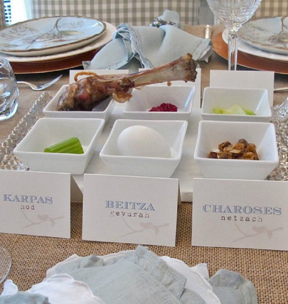 DIY seder plate Brit Co.