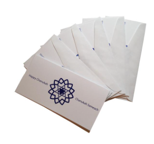 Chanukah Gift Envelope