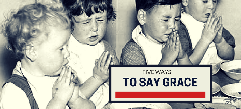 5 languages to say grace