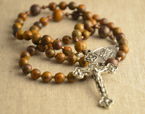 rosary prayer beads baptism gift