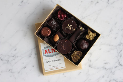 alma chocolate gift box