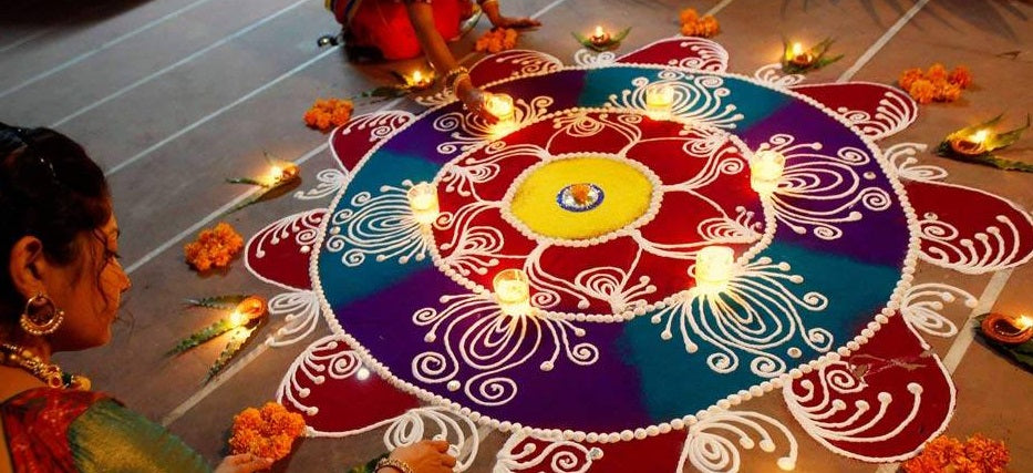 rangoli from decorchamp