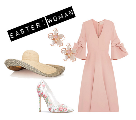 WOMEN'S EASTER FASHION LOOK