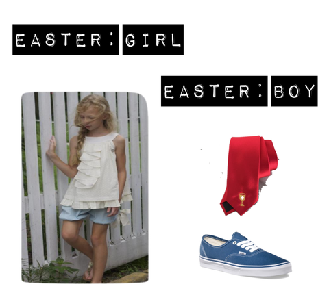 easter style for boys and girls