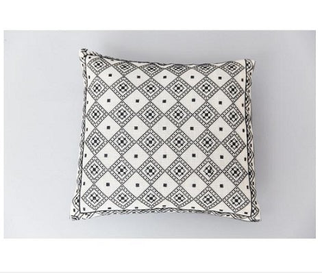 faham embroidered pillow cover