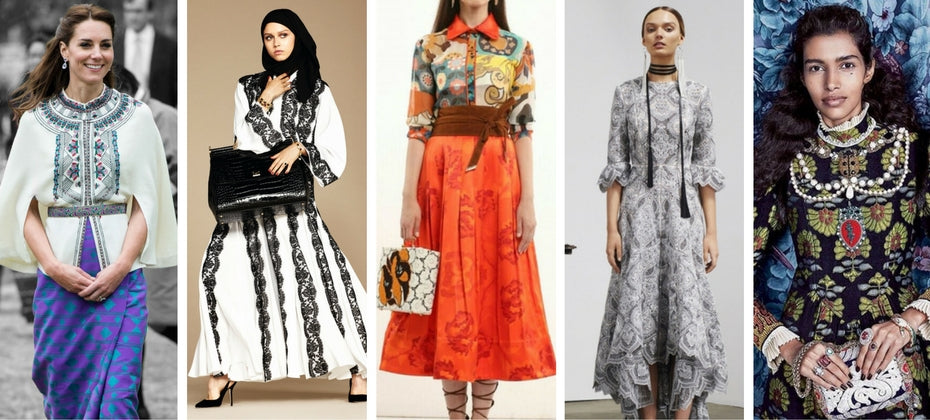 modest fashion from major designers