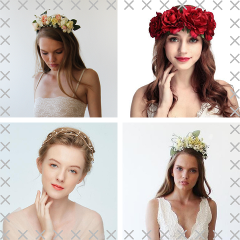 floral headpieces