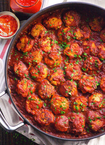harissa recipe with chicken meatballs