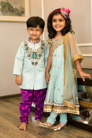 kids indian wedding outfit
