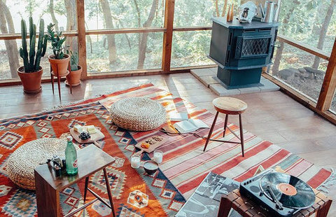 kilim rugs for your dining room
