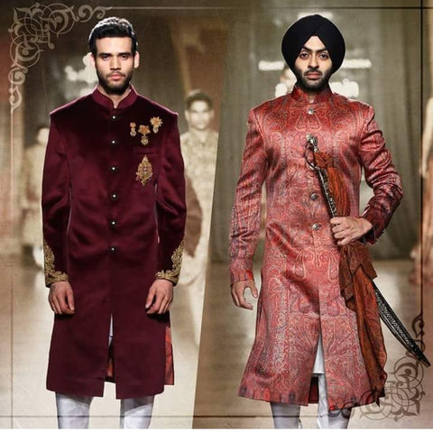 Sherwani for Indian Wedding